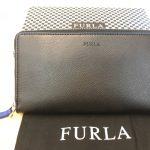 フルラ レザー ラウンドファスナー長財布をお買取りしました!